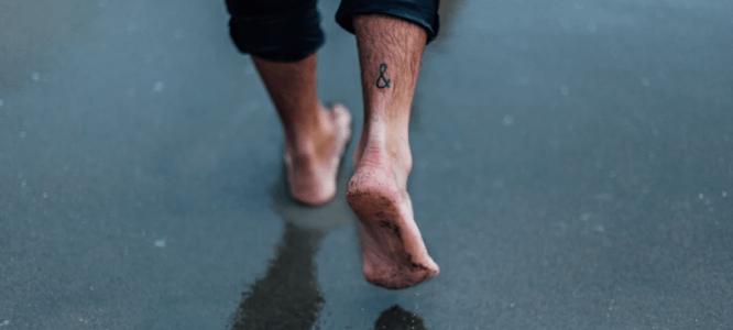voeten behandelen met Arganolie